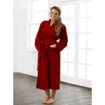 BATHROBE   JEWEL RED-ROBE